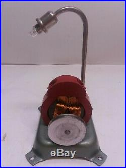 Jensen street light for live steam engine toy. Vintage. Good cond. Works