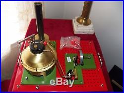 John Ericsson Toy Steam Engine by Alga Sweden Excellent Condition Original Box