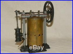 Jouet Ancien Tole Machine A Vapeur Cr 555 Charles Rossignol Tin Toy Steam Engine