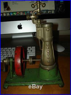 KENTON 1929 VERTICAL STEAM ENGINE - RARE RARE RARE