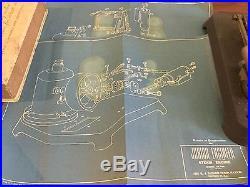 K. J. Miller Junior Engineer Toy Steam Engine SE 100 Simons Antique Vintage