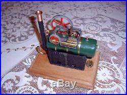 Kookaburra model steam engine 001 overtype No 207 Australian Live Original box