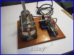 L3681- Vintage Jensen mfg. Co. Style model #25 steam engine No Reserve