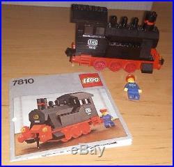 LEGO 4.5V 7810 Push-Along Steam Engine 4.5 Volt Train Track Railway Eisenbahn