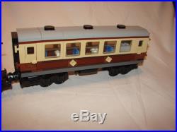 LEGO Emerald Night 10194 Creator Train Steam Engine and Coach Complete