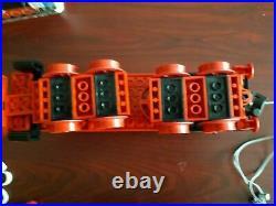 LEGO Ferrovia locomotiva a vapore 7750, 12v 4.5v Steam Engine train, 80s classic