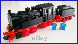 LEGO Vintage 12V Train 7750 Steam Engine with instructions and original box, RARE