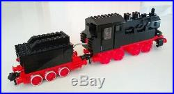 LEGO vintage 12V Trains 7750 Steam Engine with red motor, VERY RARE