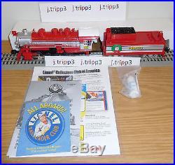 Lionel 6-30193 Peanuts Christmas 0-8-0 Steam Engine Locomotive Toy Train O Gauge
