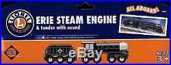 LIONEL Erie Steam Engine/Tender/SoundWoodenTrainset-2006ThomasBoys & Girls-3+