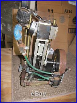 LIVE STEAM ENGINE toy model working with whistle