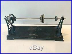 Large Antique Doll Company (dc) Live Steam Engine Line Shaft / Transmission