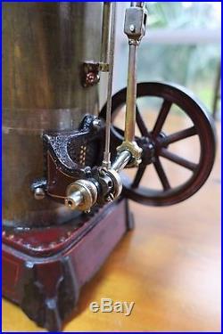 Large German-Made Vintage Schoenner 165/3 Steam Engine Dampfmaschine