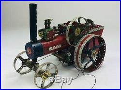 Large Meccano Steam Engine Hand Built working model. Impressive
