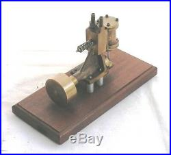 Large Vintage PM Research or Reeves marine type steam engine