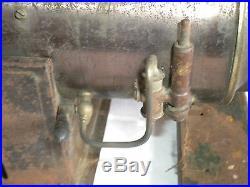 Large vintage Schoenner 144F Overtype boiler Live steam engine to restore 1900