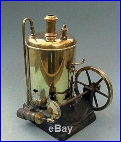 Late 1880s Ornate Vertical Steam Engine