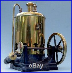 Late 1880s Vertical Toy Steam Engine