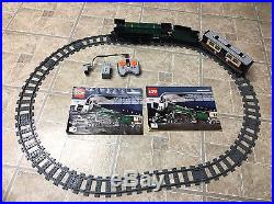 Lego 10194 Creator Emerald Night Steam Engine Train With track And Power