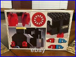 Lego 1970 Steam Locomotive 126 Train Complete With Box & Instructions Very Rare
