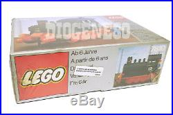 Lego 7810 Push Along Steam Engine Locomotive Train New Misb Vintage 12 V Unused