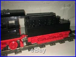 Lego Custom 9v Train German Steam Engine Br 01 + Tender 18 Inch Long