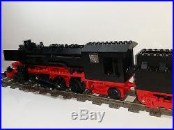 Lego Custom Train German Steam Engine Br 45 With Cabin Tender 20 Inch Long