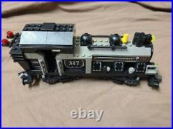 Lego Steam Locomotive Grey KT107 My Own Train 3741 Grey Free Shipp