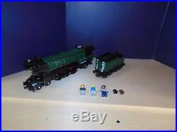 Lego Train City Creator Emerald Night Steam Engine 10194