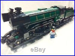 Lego Train City Creator Emerald Night Steam Engine Mint 10219/10233/10194 READ