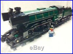 Lego Train City Creator Emerald Night Steam Engine READ 10219/10233/10194