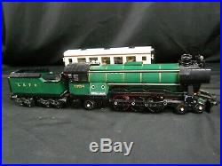 Lego Train City Creator Emerald Night Steam Engine with Passenger Car 10194