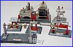 Line Mar Steam Engine with 5 Accessories W Original Box Super Rare