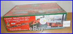 Lionel 6-21944 Christmas Holiday Steam Engine Toy Train Set O O27 Gauge Sealed