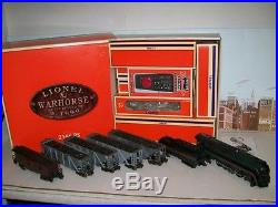 Lionel O Gauge 6-11909 N&W Warhorse Coal Train Set With No. 600 J Steam Engine