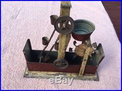 Live Model Steam Engine Pumpstation Plank