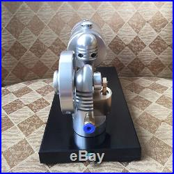 Live Steam Engine Reciprocate Steam Engine with Boiler Hot Air Stirling Engine Toy
