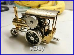 Live Steam Engine Toy Miniature Tractor LS-LOC
