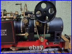 Live Steam Locomotive Regner Vincent Gauge 1 or 0