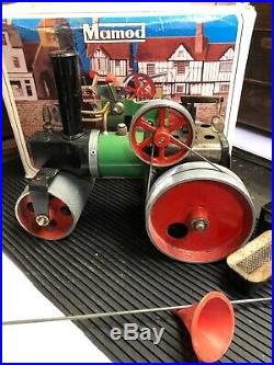 Live Steam Mamod SR1A Roller Model Toy Traction Engine