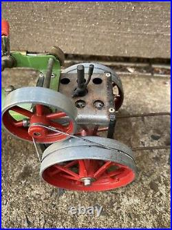 Live Steam Mamod Te1a Traction Engine (early Brass Whistle) Model Toy Steam