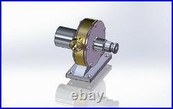 Live Steam Turbine Engine JB-I Model