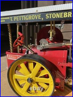 Live Steam Wilesco D409 Showmans Traction Engine With Working Lights Model Toy
