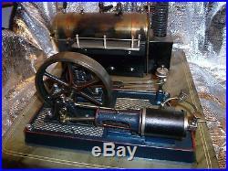 Live steam antique steam engine