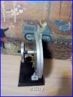 Live steam art deco communist steam engine cutaway display model huge mazda rx