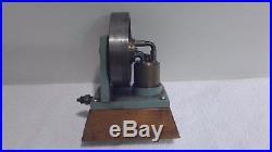Live steam engine Elmer Verburg elbow valved engine