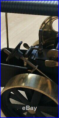 Live steam engine roller brass. Germany