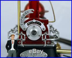 Live steam turbine'Tornado' #185 Miniature Power Plant Scale Steam Engine