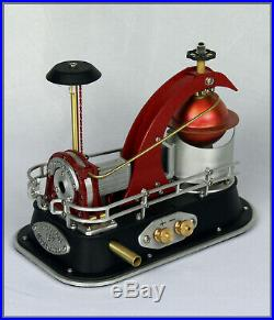 Live steam turbine'Tornado' #187 Miniature Power Plant Scale Steam Engine