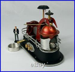 Live steam turbine'Tornado' #188 Miniature Power Plant Scale Steam Engine